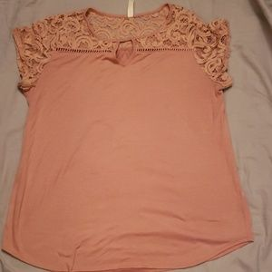 PerSeption Women Blouse. Rose Pink Size 1x
